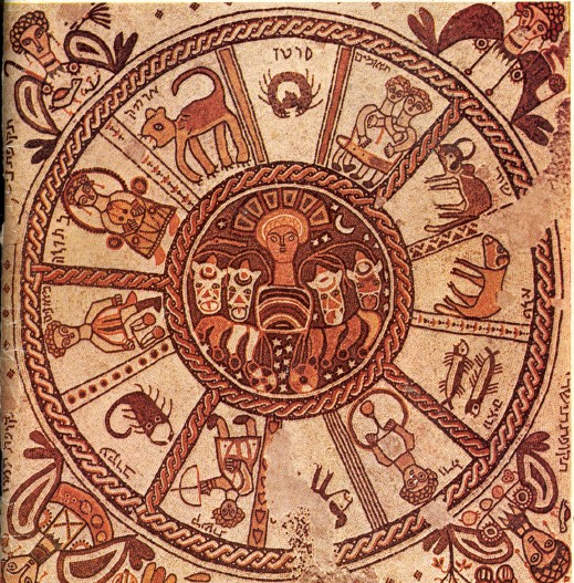 The zodiac panel of the Talmudic period Beth Alpha synagogue