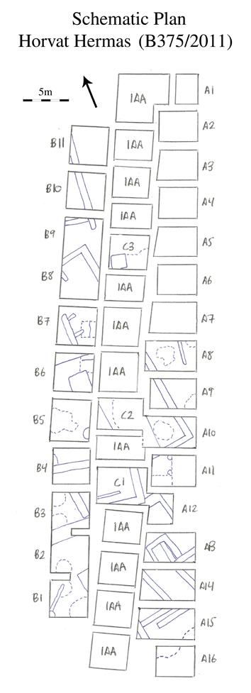 Horvat Hermas Site Plan schematic 3