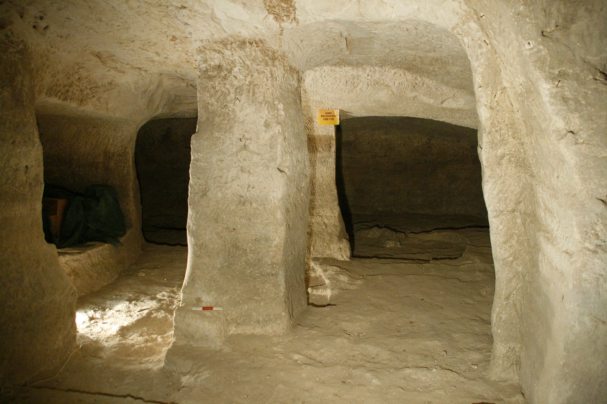 Subterranean chambers at Hellenistic Maresha